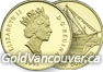 Canadian $100 gold coin from 1987 to 2012