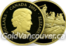 Canadian $200 gold coin