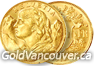 Switzerland 20 Francs gold coin