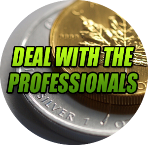 We are Professional Gold buyers with 40+ years of experience