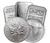 Sell silver coins and bars in Vancouver